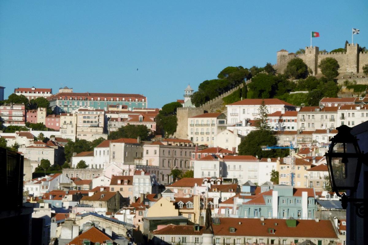 Lissabon Stadtansicht