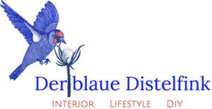 Logo Der blaue Distelfink