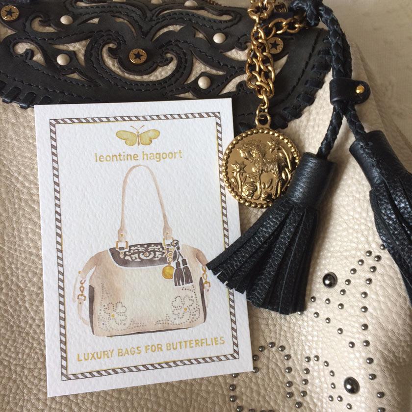 Handtaschen-Leontine Hargoot Details