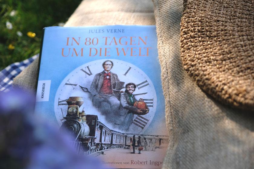 """Buch """"In 80 Tagen um die Welt"""""""