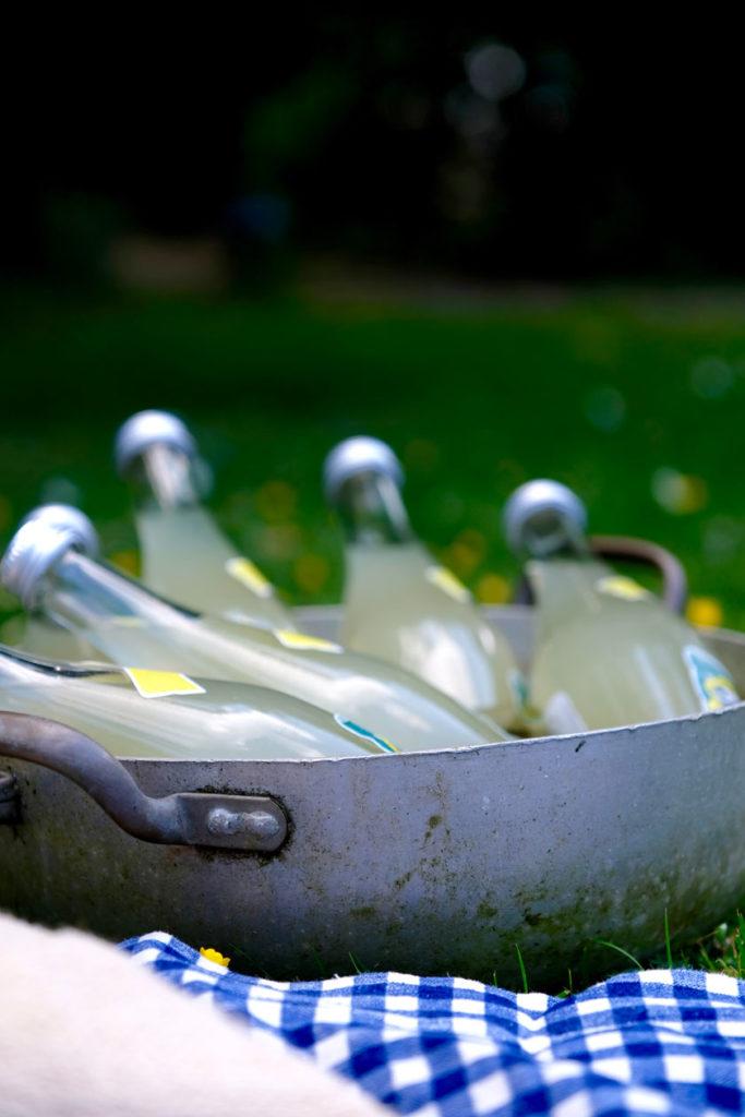 Picknick: Getränke kühlen