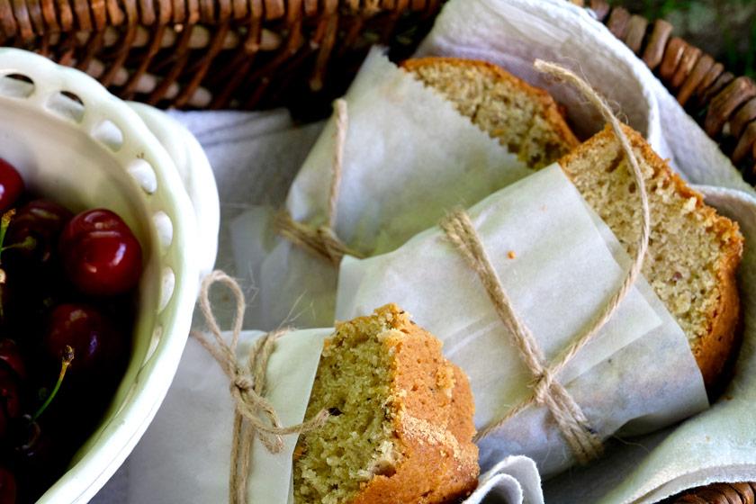 Picknickpäckchen: Zucchinibrot