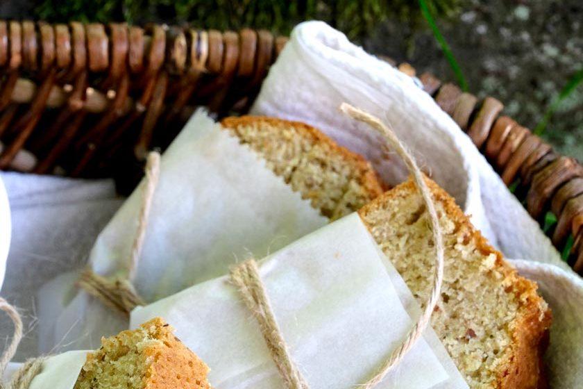 Zucchinibrot als Butterstulle – lecker!