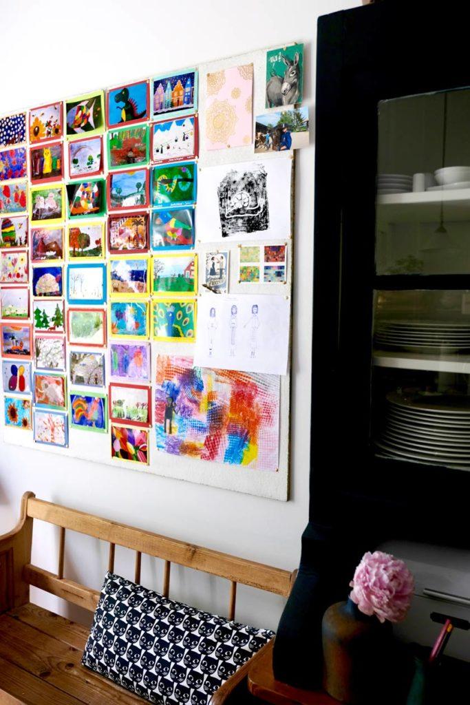 Platte vom Tischler für Kinder-Kunst