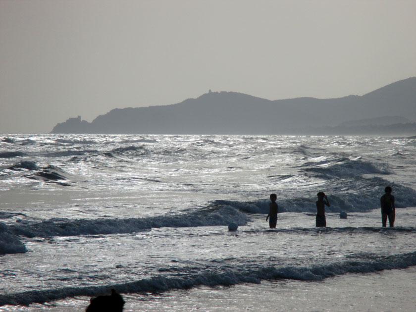 Meer bei Castiglione della Pescaia