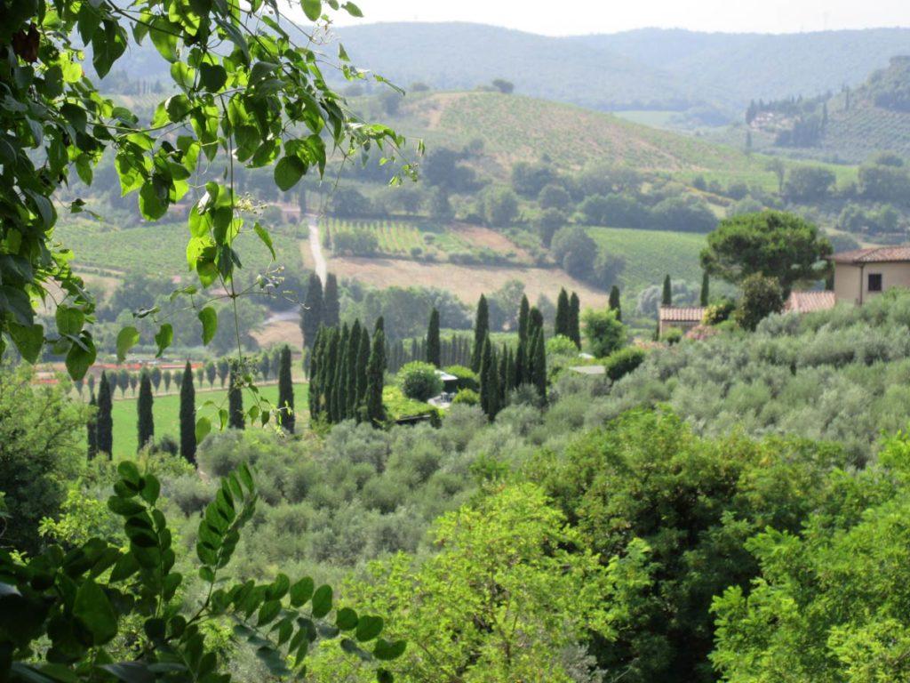 Die wunderbare Landschaft der Toskana