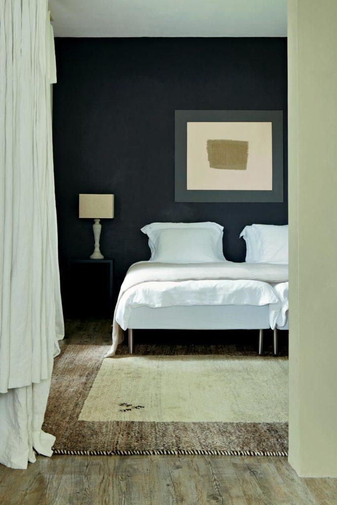 Farrow & Ball Wandfarbe Schlafzimmer