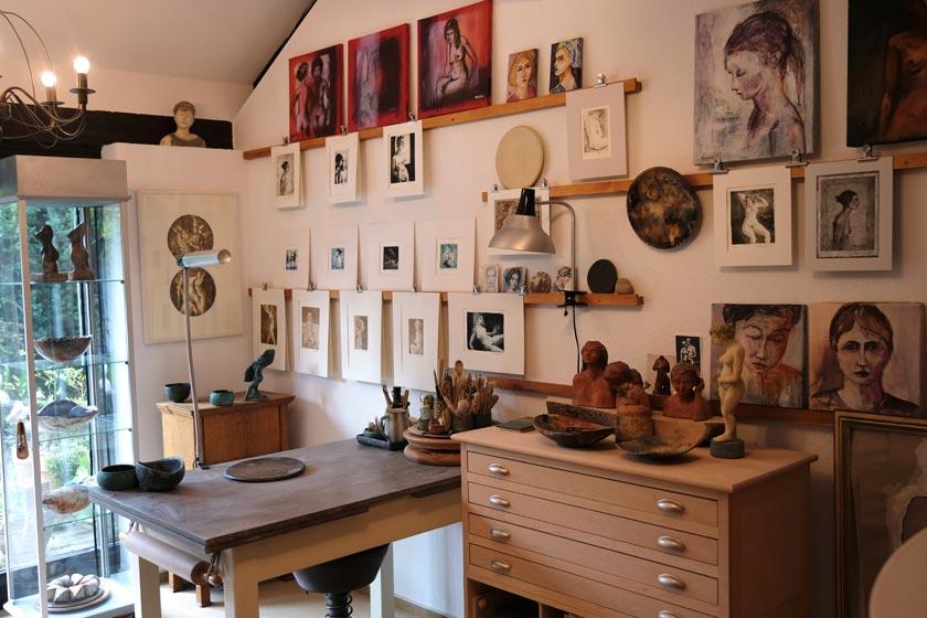 Atelier von Stanislava Maryskova
