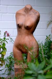 Skulptur aus dem Rauchbrand