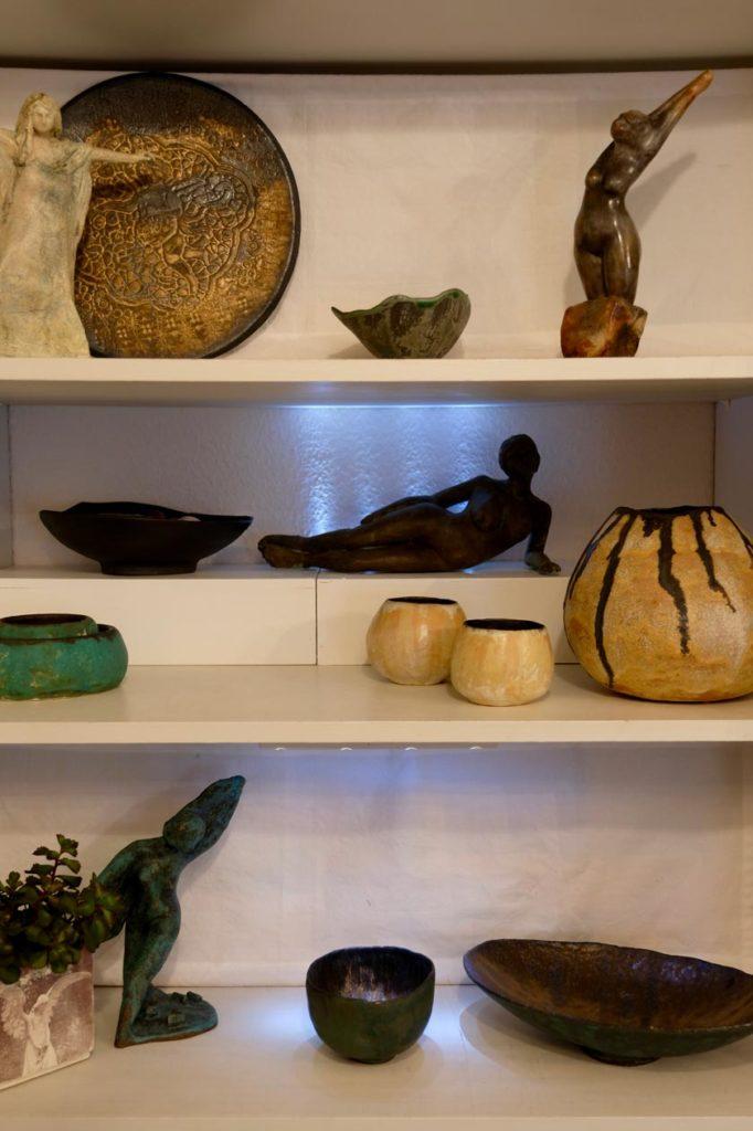 Keramik-Austeilung