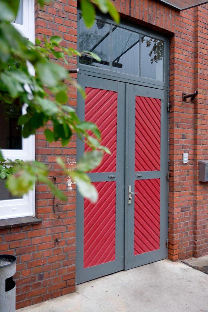 Eingang der Letterpress-Manufaktur Hamburg