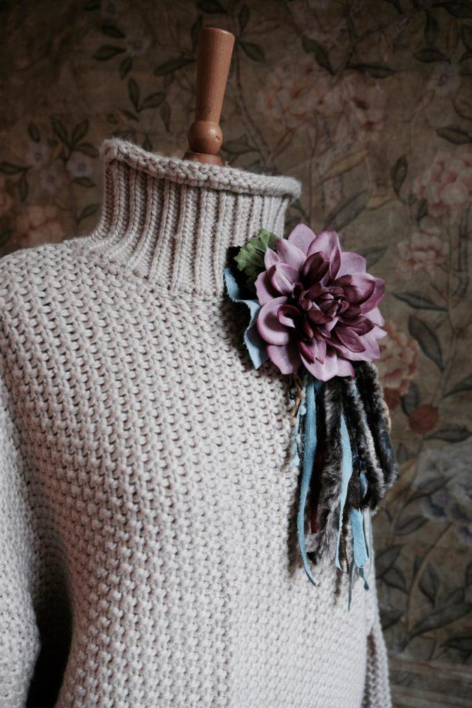 Fashion-DIY: Ansteckblüten