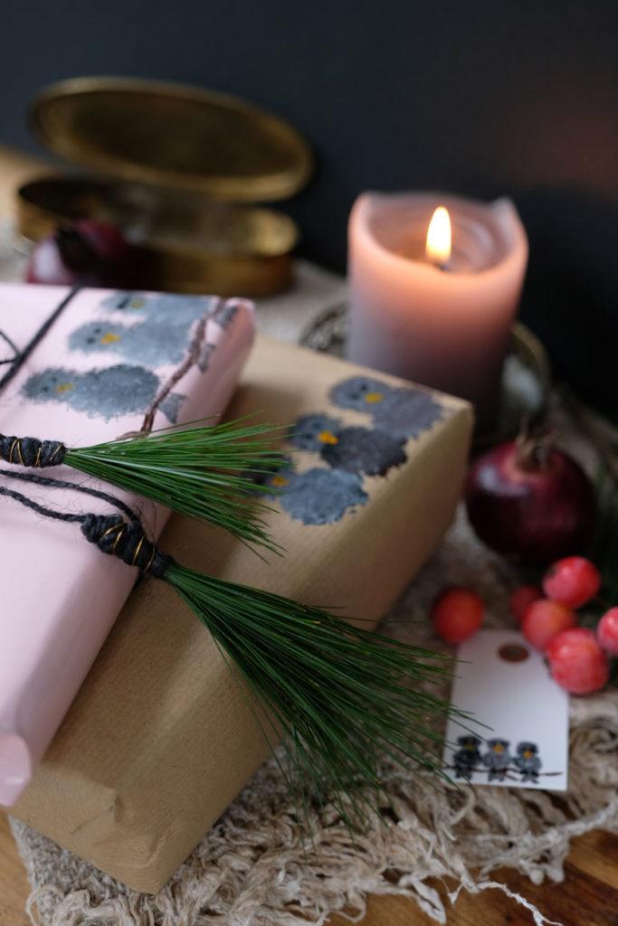 DIY- Wintervögel inspirieren zu Geschenken, Grußkarten und Geschenkverpackungen