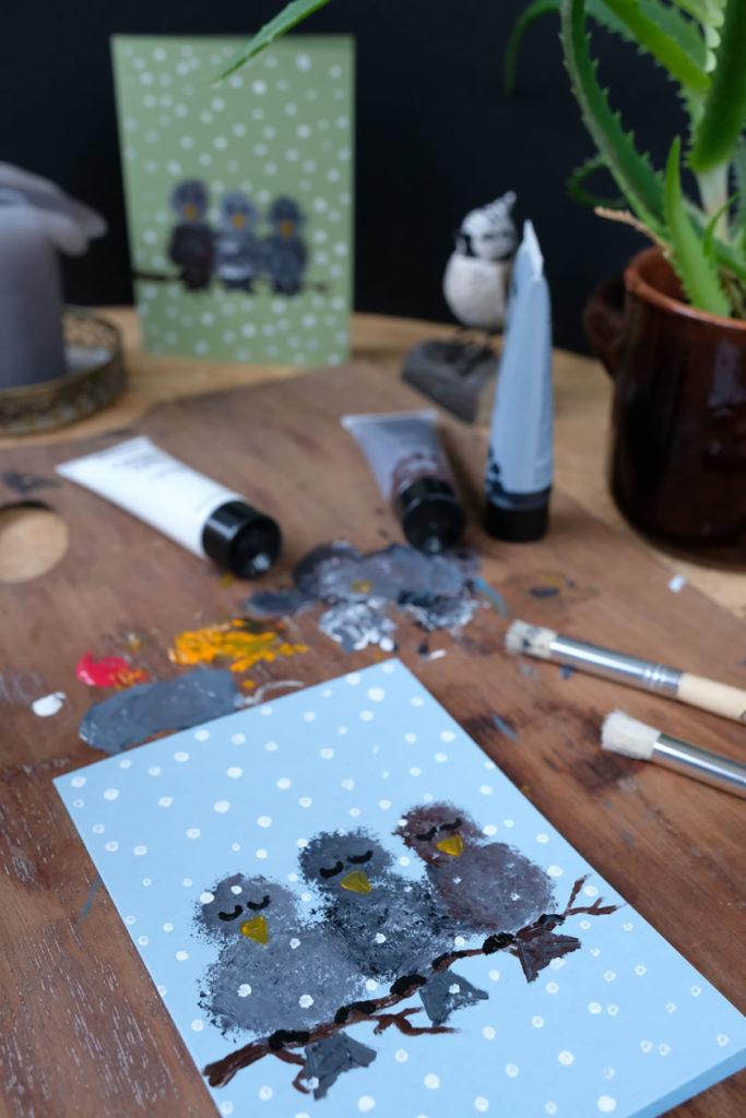 DIY Wintervögel: Geschenke, Grußkarten und Verpackungsideen