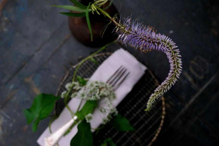 Tolles Sommergericht: Crespelle alla giardino mit Giersch oder Spinat