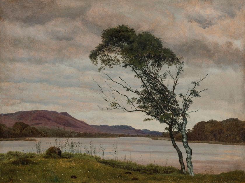 Kahn: Landschaft bei Silkeborg