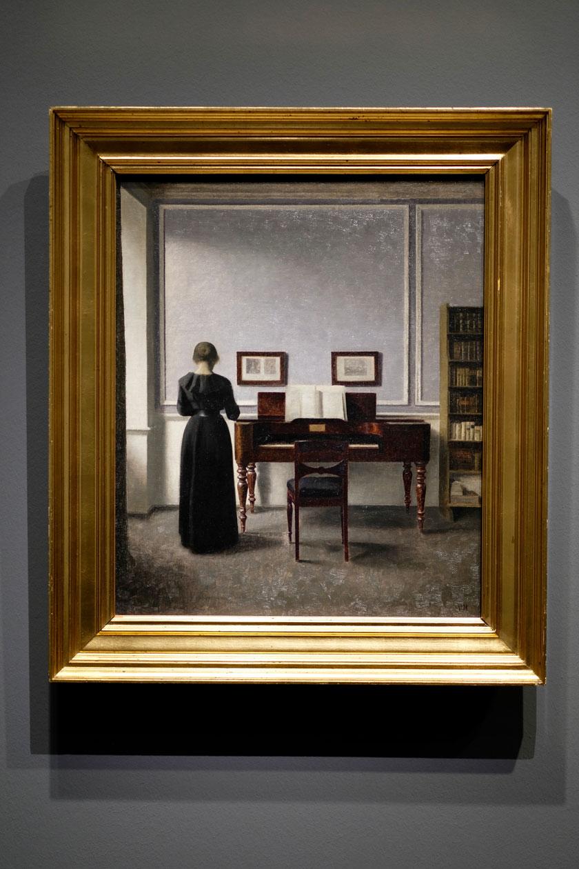 """Vilhelm-Hammershoi-""""Im Licht des Nordens"""" - Ausstellung in der Hamburger Kunsthalle"""