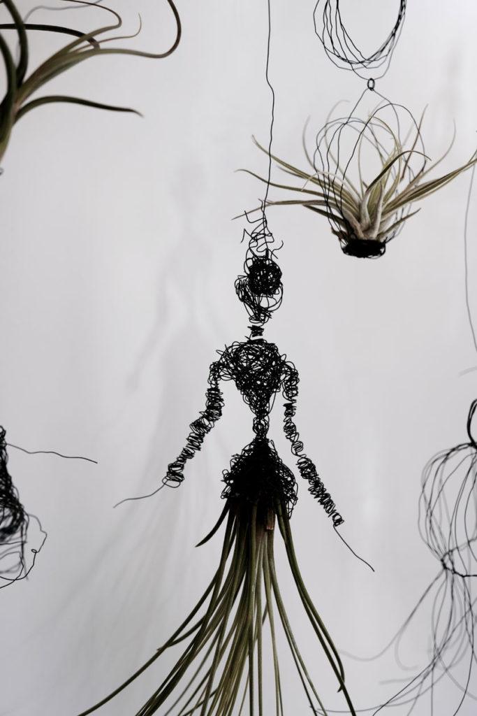 DIY - Figurinen aus Draht, Tillandsien als Mobile