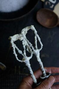 Schlagsahne für Vanilleparfait