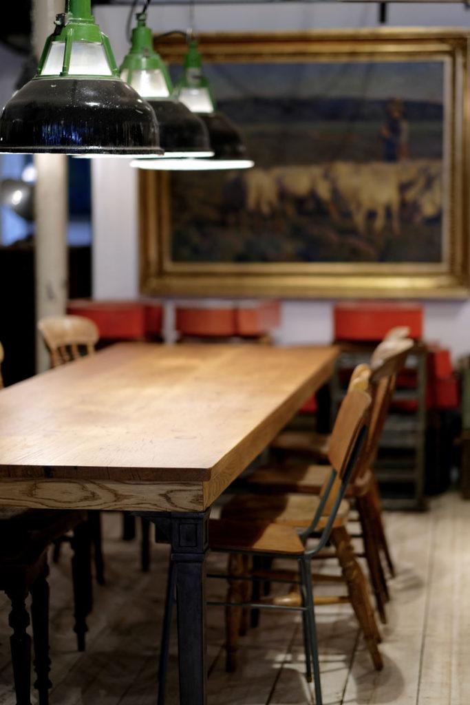 Möbel und Leuchten im Industrie Design: flat no. 6