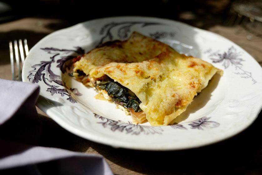 Mangold-Lasagne...ein Rezept