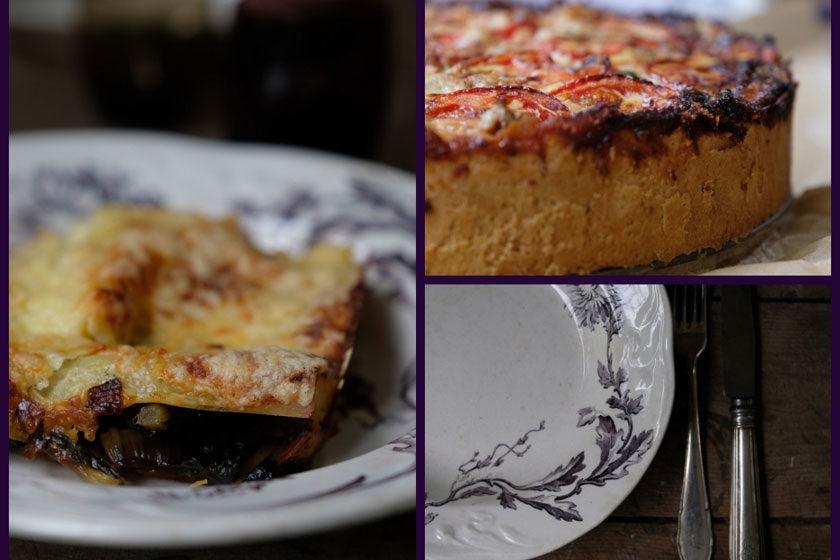 Mangold: Lasagne oder Quiche? Beides lecker!