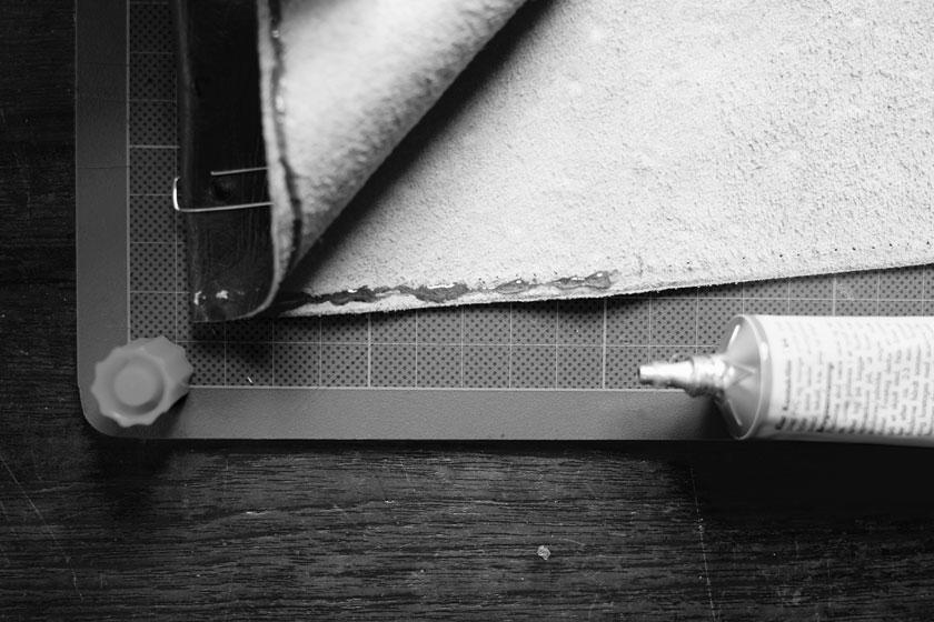 Anleitung Buchhüllen aus Leder