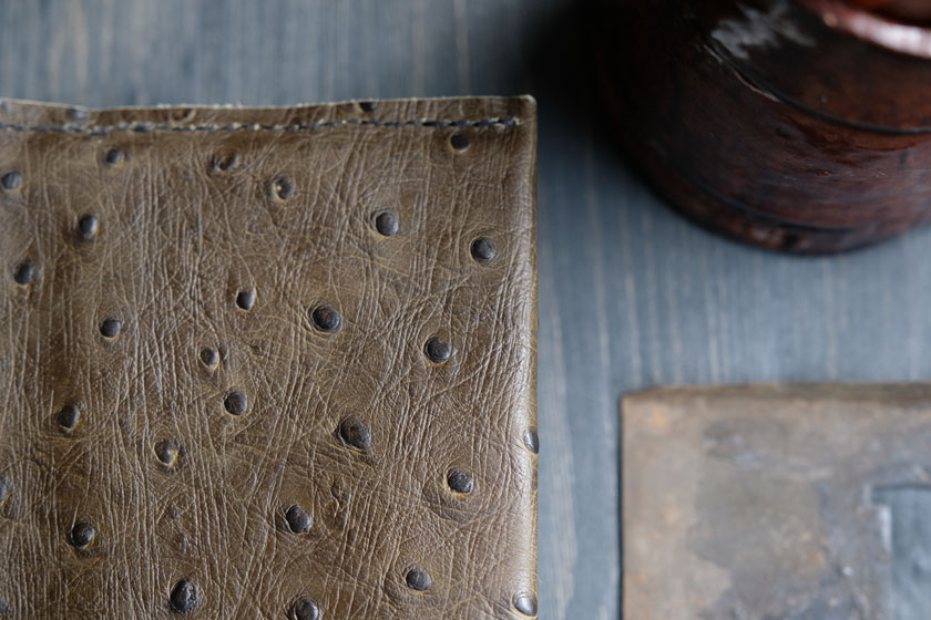 Buchumschlag aus Leder