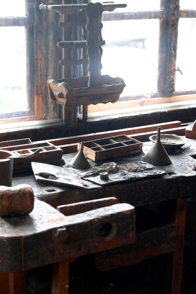Die Werkstatt im Künstlerhaus von Karl Junker