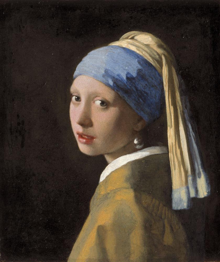 Das Mädchen mit dem Perlenohrgehänge/Vermeer