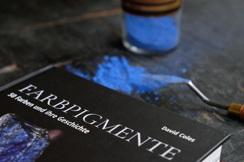 Farbpigmente - Buchvorstellung und Inspirierendes