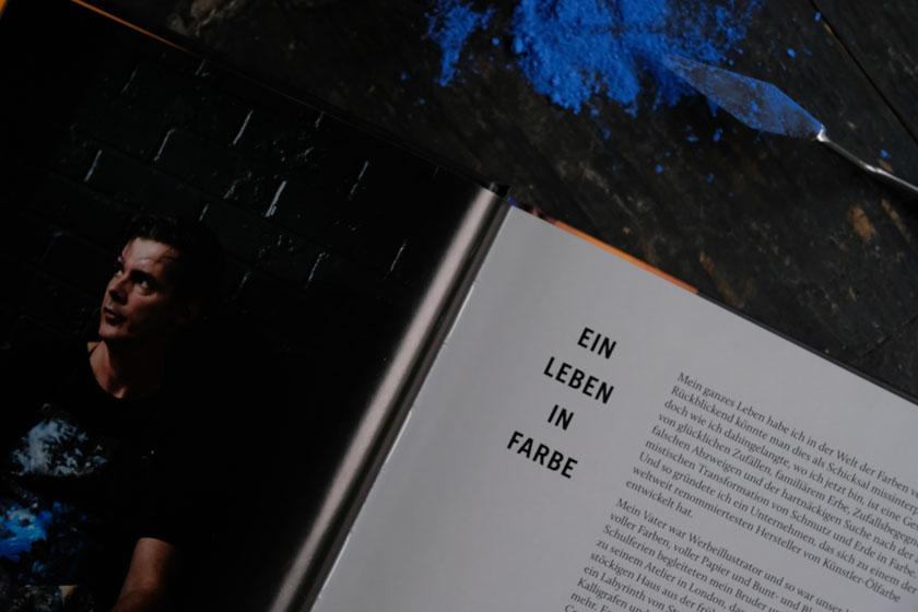 """David Coles Buch """"Farbpigmente - 50 Farben und ihre Geschichte"""""""