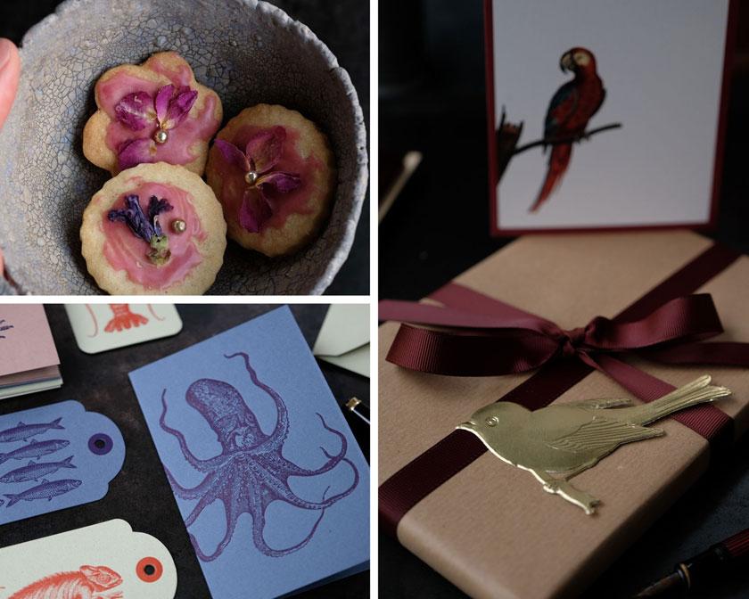 Novemberinspiration: Kekse und Papeterie