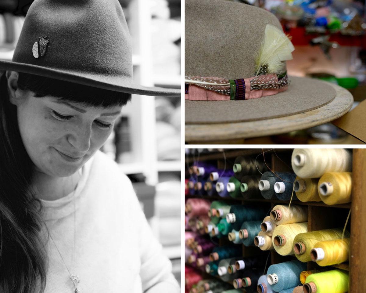 Tragt mehr Hut! Zu Besuch bei Modistin Ulla Machalett