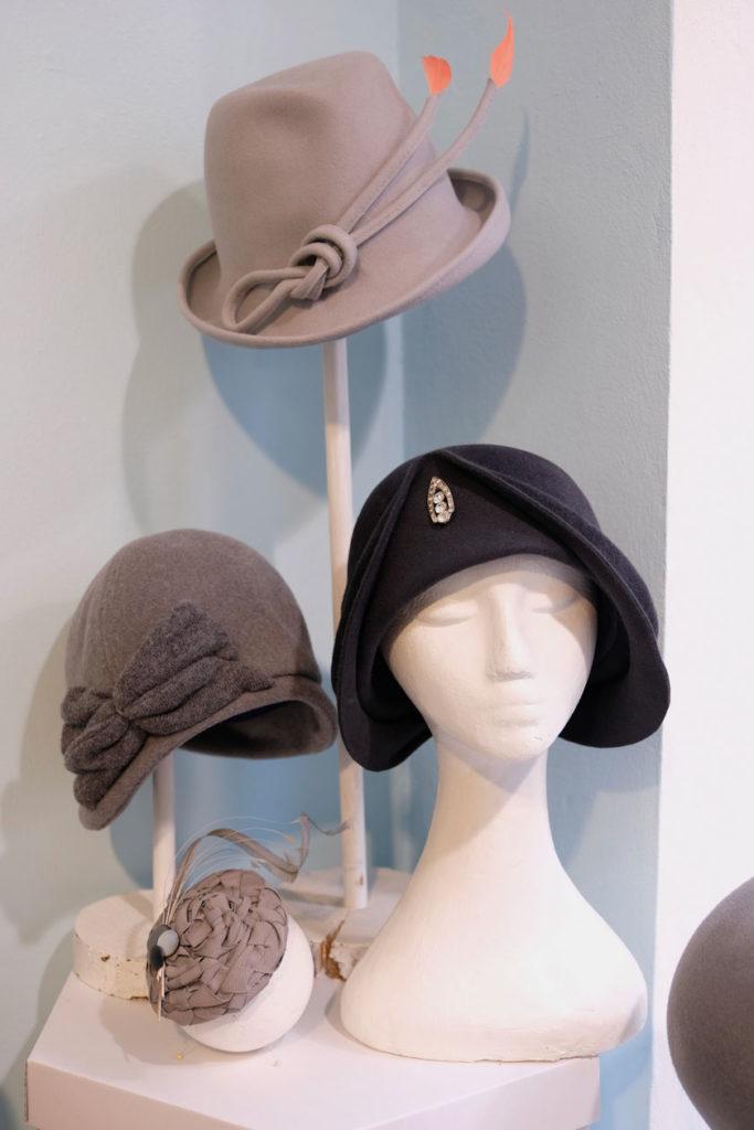 Auf den Hut gekommen: Hutsalon von Ulla Machalett