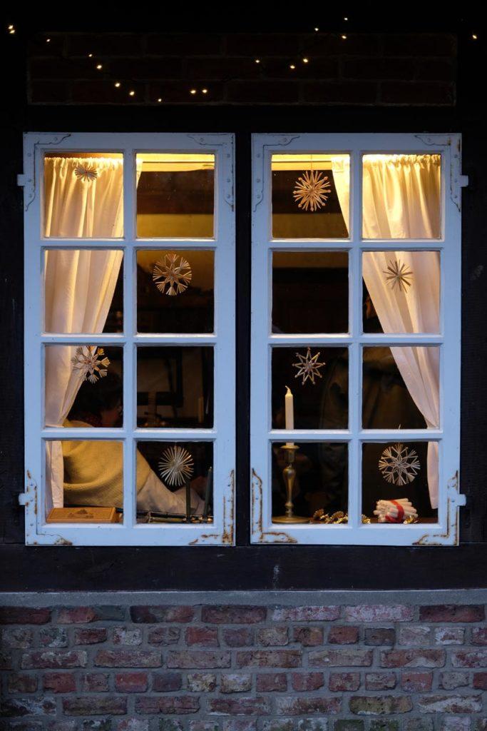Fenster zu Weihnachten