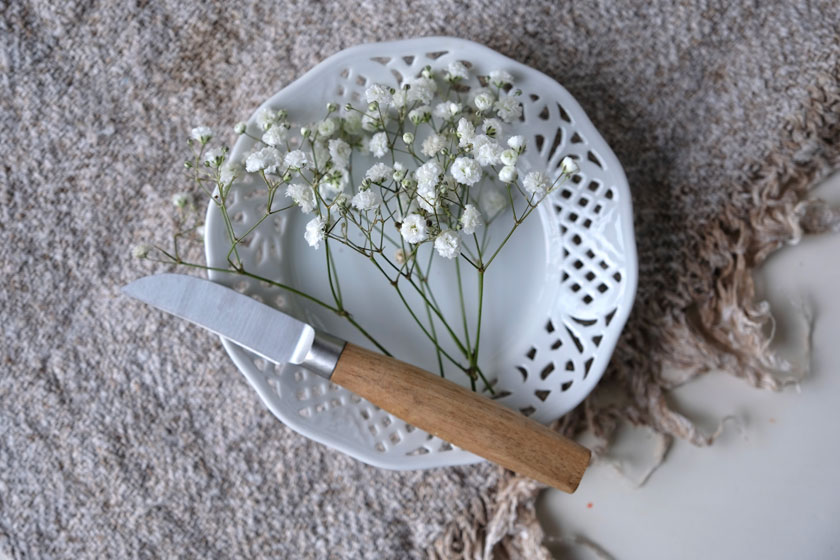 Weiß wie Schnee – Schleierkraut - kurz geschnitten für kleine Gefäße