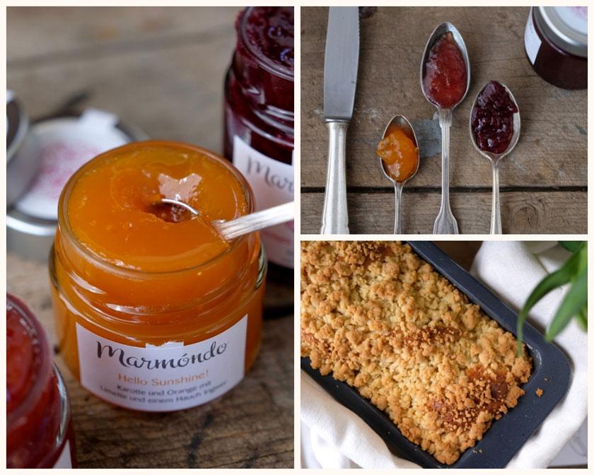 Marmelade und Streuselbrot – eine wahre Liebe. Rezept und Interview mit den Gründern der Marmondo-Marmeladenmanufaktur