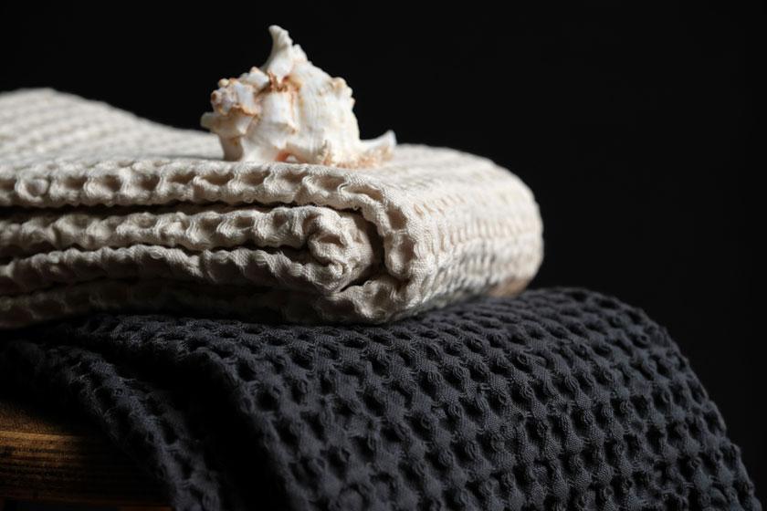 Waffelpiqué-Handtücher - ein haptisches Vergnügen