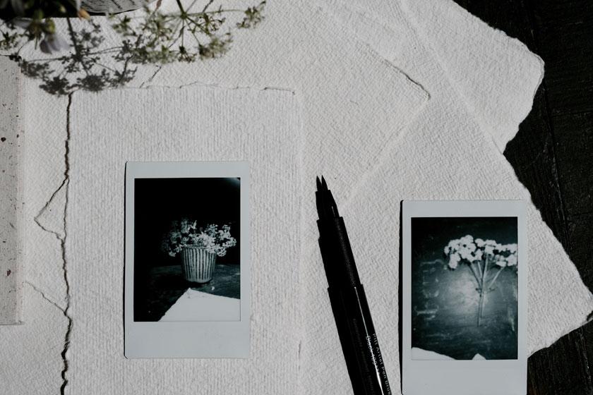 Handgeschöpftes Papier regt die Fantasie an