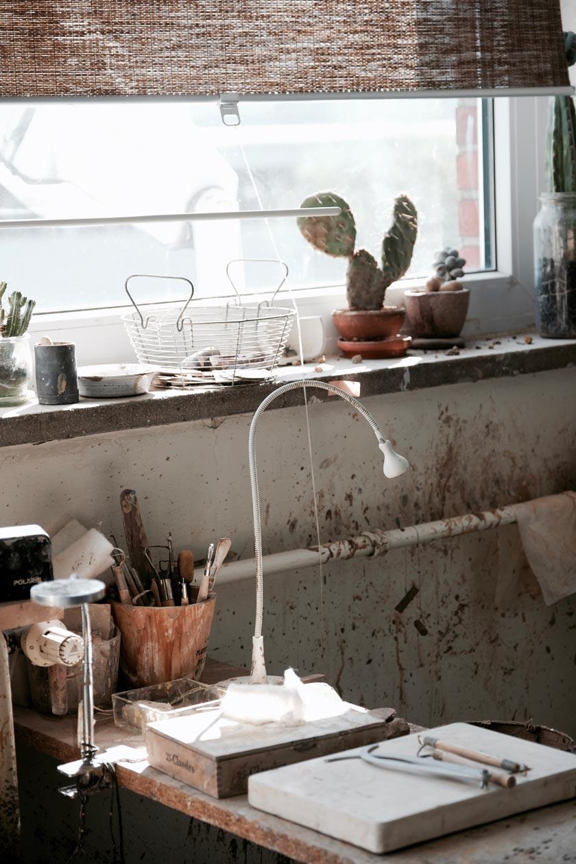 Atelier von Tina Kami