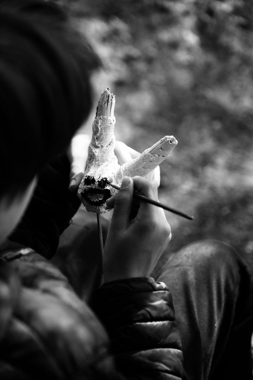 DIY-Skulpturen: Kopffüssler