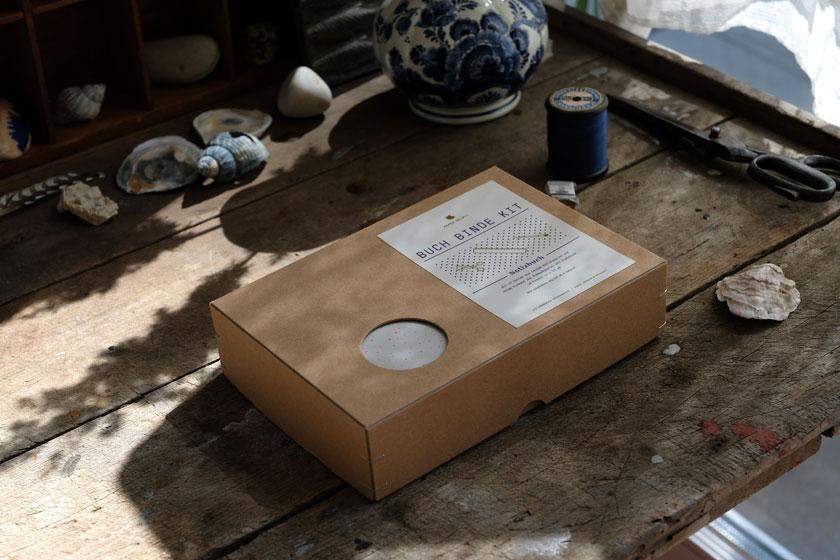 Buchbinde-Kit zum Bestellen