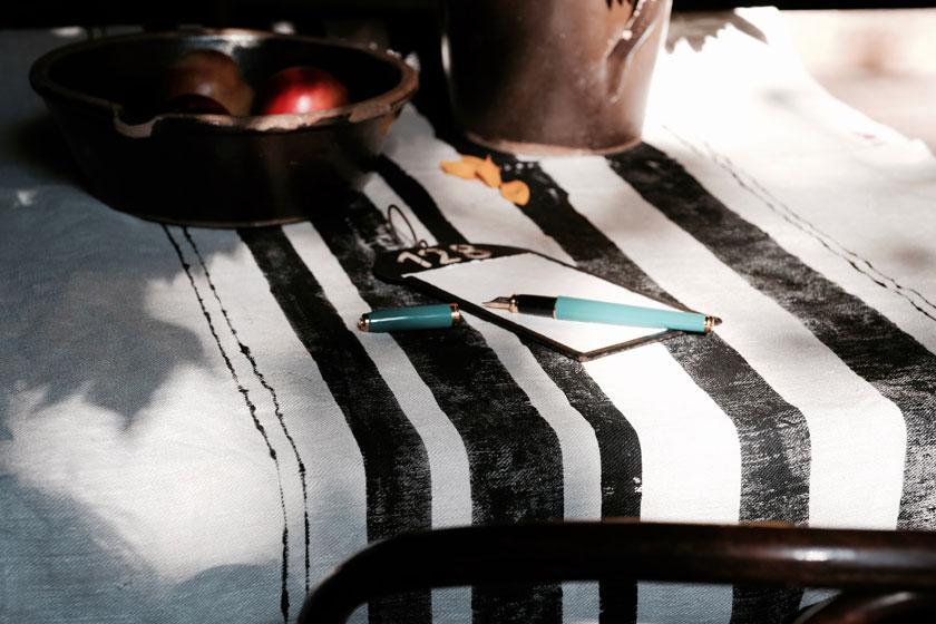 DIY: Streifen - frisch aufgetragen