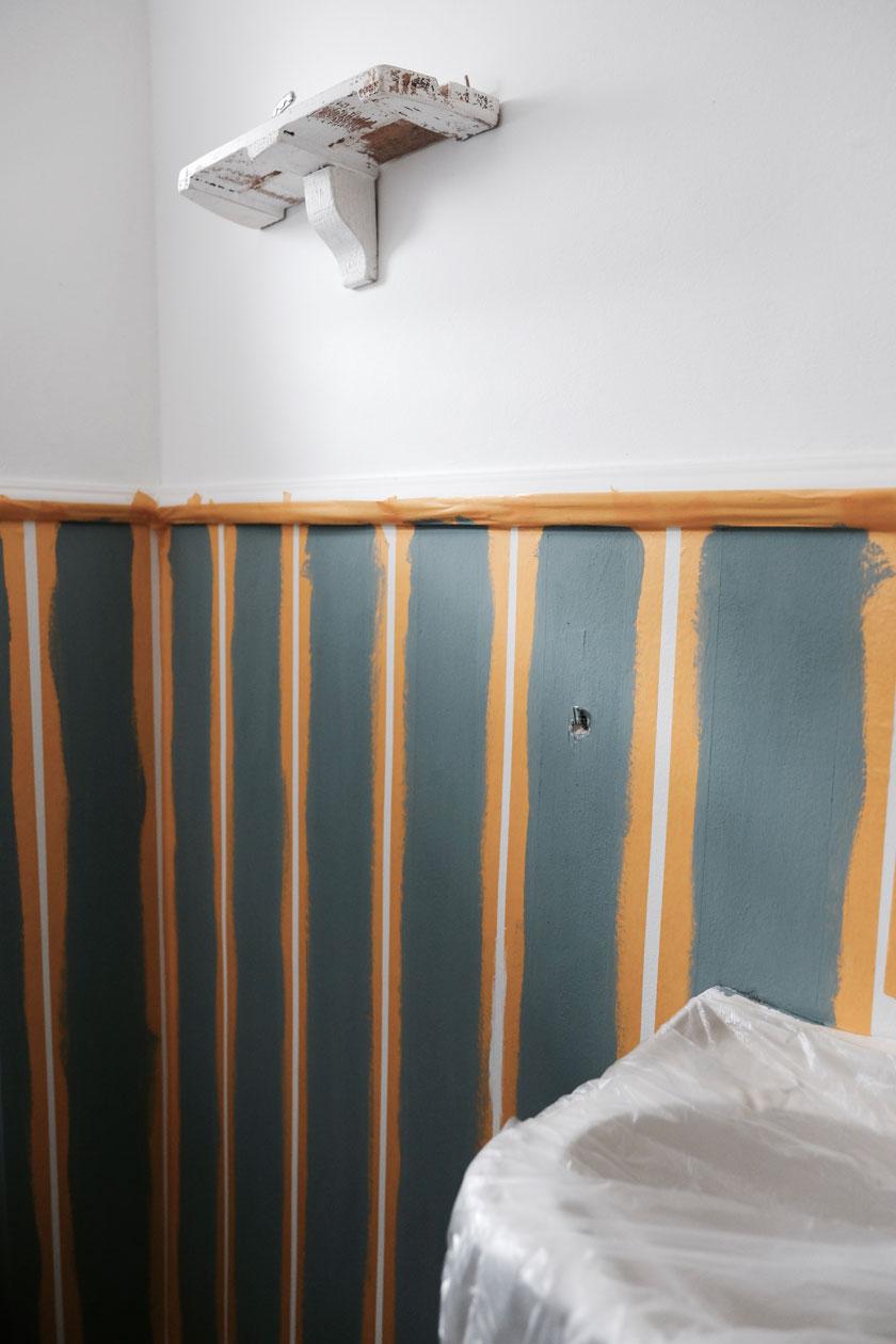 Interior: Streifenwand selber machen