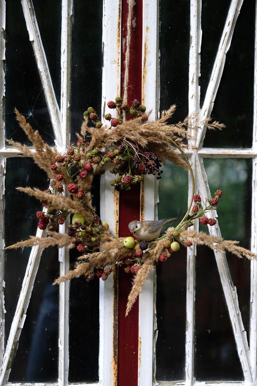 Septemberleuchten – Blumenkränze selbermachen