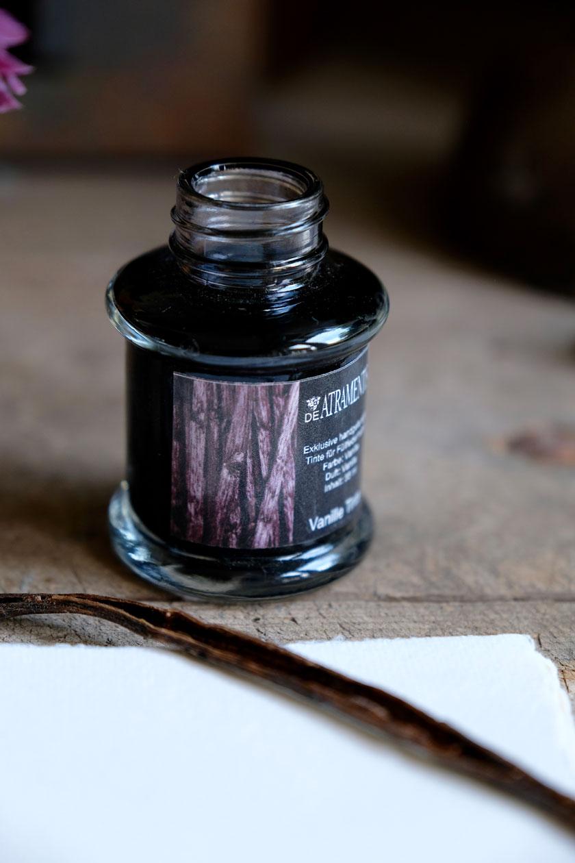 Tinte mit Vanilleduft –sinnliches Schreiberlebnis