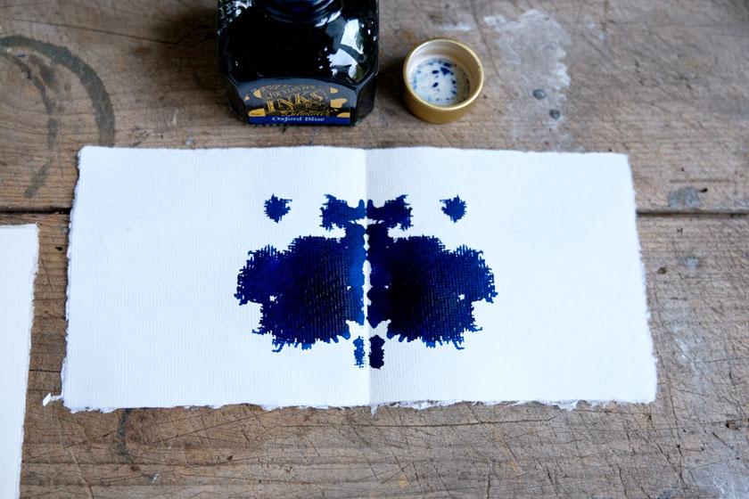 Schöne Tinte für eine schöne Handschrift – oder für Schmetterlinge!