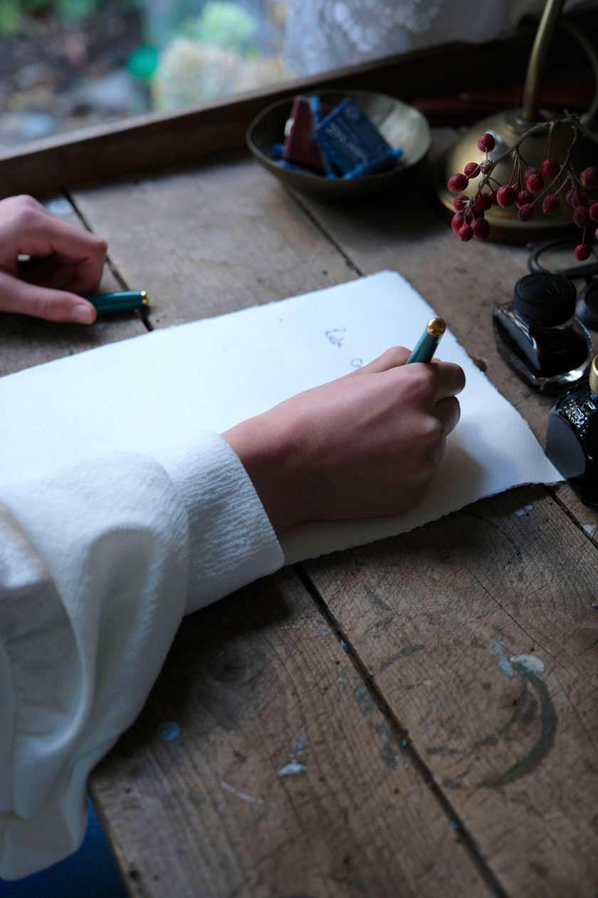 Handschrift: Mit Tinte und Füllfederhalter ...eine Liebeserklärung