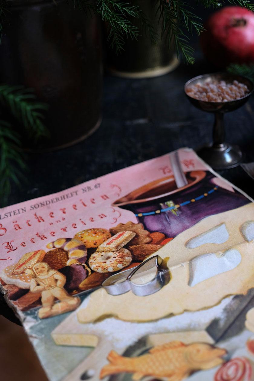 Marmeladenplätzchen mit Granatapfelgelee